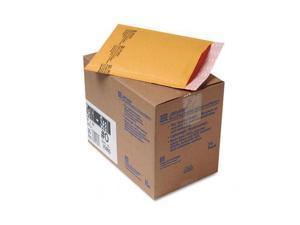 Sealed Air                               Jiffylite Self-Seal Mailer, Side Seam, #0, 6 x 10, Golden Brown, 25/Carton
