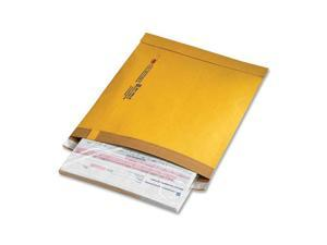 Sealed Air Utility Self-Seal Mailer, Side Seam, #5, 10 1/2x14 3/4, Golden Brown, 100/Carton