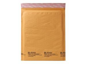 Sealed Air Jiffylite Self-Seal Mailer, Side Seam, #6, 12 1/2 x 19, Golden Brown, 50/Carton