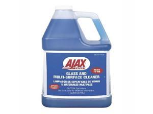 Ajax Glass and Multi-Surface Cleaner, 1 gal. Bottle, 4/Carton