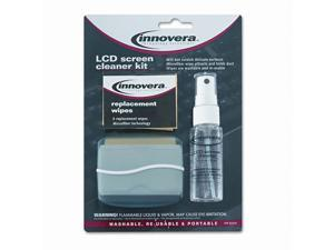 Innovera LCD Screen Cleaner, 1.1 oz. Pump Bottle