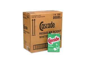 Cascade 00801CT Automatic Dishwasher Powder, 20 oz. Box, 24/Carton