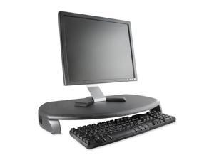 Kantek MS280B CRT/LCD Stand with Keyboard Storage, 23 x 13 1/4 x 3, Black