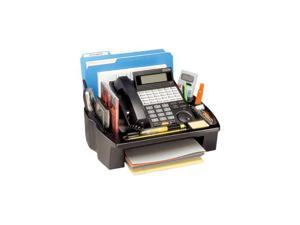 Kantek ORG500 Phone Central Desk Stand and Organizer, 14 1/4 x 11 3/4 x 3 1/2, Black