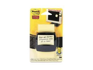 Post-it Pop-up Notes Super Sticky Super Sticky Pop-up Note Dispenser for 2 x 2 Self-Stick Notes, Black Base