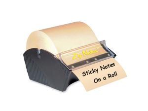 Zip Notes 0021 Manual Sticky Note Dispenser, 3 x 3, Dark Blue