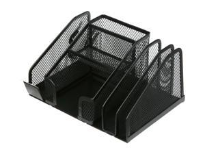 "Rosewill Black Steel Mesh Multifunctional Penstand and  Desk Organizer 8.5"" x 7.25"" x 4.25"""