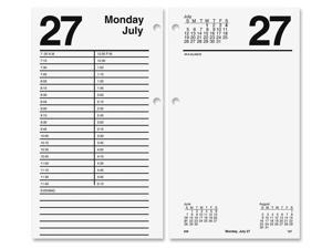 "AT-A-GLANCE E210-50 Large Desk Calendar Refill, 4 1/2"" x 8"""
