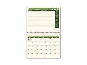 "AT-A-GLANCE                              Recycled Desk/Wall Calendar, 8 1/2"" x 11"""