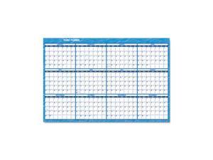 "AT-A-GLANCE                              Recycled Horizontal Erasable Wall Planner, 48"" x 32"""