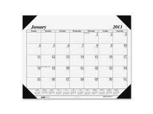 House of Doolittle™                      Workstation-Size One-Color Monthly Desk Pad Calendar, 18-1/2 x 13