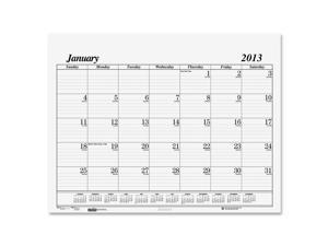 House of Doolittle™                      One-Color Dated Monthly Desk Pad Calendar Refill, 22w x 17h