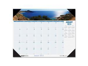 House of Doolittle™                      Coastlines Photographic Monthly Desk Pad Calendar, 22 x 17