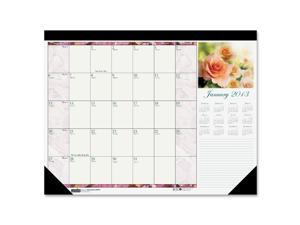 House of Doolittle 179 Beautiful Photographic Monthly Desk Pad Calendar, 22 x 17