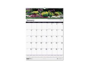 Gardens of the World Monthly Wall Calendar, 12 x 16-1/2
