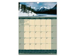 Landscapes Monthly Wall Calendar, 12 x 16-1/2