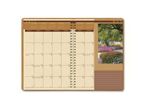 House of Doolittle™ Landscapes Full-Color Monthly Planner, Ruled, 7 x 10, Brown