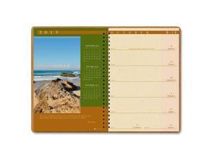 House of Doolittle 526-01 Landscapes Weekly Planner, Unruled, 7 x 10, Brown