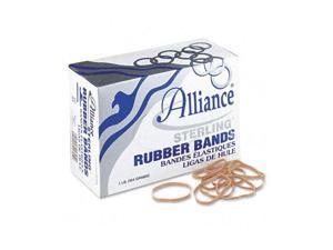 Alliance Sterling Ergonomically Correct Rubber Band, #31, 2-1/2 x 1/8, 1200 Bands/1lb Box