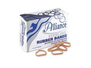 Alliance Sterling Ergonomically Correct Rubber Bands, #62, 2-1/2 x 1/4, 600 Bands/1lb Box