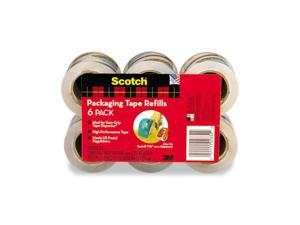 "Scotch DP-1000RF6 Refill Rolls for DP-1000 Easy Grip Tape Dispenser, 1.88"" x 25 yds, 6 Rolls/Pack"
