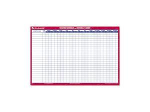 """AT-A-GLANCE PM250-28 Recycled Undated Erasable Universal/Vacation Scheduler, 36"""" x 24"""""""