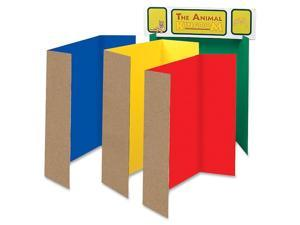 Spotlight Corrugated Presentation Display Boards, 48 x 36, Assorted, 4/Carton
