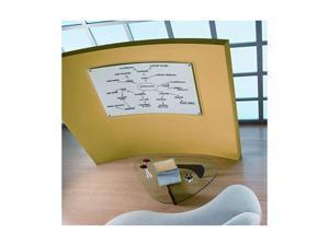 Quartet                                  iQTotal Erase Board, 49 x 32, White, Translucent Frame