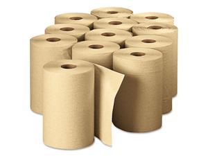Georgia Pacific                          Envision Unperforated Paper Towel Rolls, 7-7/8 x 350', Brown, 12/Carton