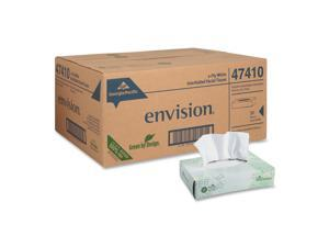 Georgia Pacific 47410 Envision Facial Tissue, 100/Box, 30/Carton