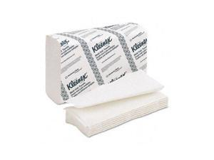 Kimberly-Clark Professional              KLEENEX Multifold Paper Towels, 9 1/5 x 9 2/5, White, 150/Pack, 8/Carton