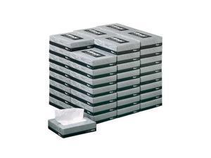 KIMBERLY-CLARK PROFESSIONAL* 21195 KLEENEX White Facial Tissue, 2-Ply, 65 Tissues/Box, 48 Boxes/Carton