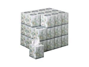 Kimberly-Clark Professional              KLEENEX BOUTIQUE Two-Ply White Facial Tissue, 95 Tissues/Box, 36 Boxes/Carton