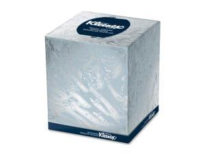 KIMBERLY-CLARK PROFESSIONAL* KLEENEX BOUTIQUE White Facial Tissue, 2-Ply, POP-UP Box, 95/Box, 36 Boxes/Carton