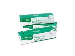KIMBERLY-CLARK PROFESSIONAL* 34256CT KIMTECH SCIENCE KIMWIPES, Tissue, 14 7/10 x 16 3/5, 140/Box, 15/Carton