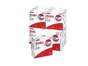 Kimberly-Clark Professional              WYPALL X70 Wipers, POP-UP Box, 9 1/10 x 16 4/5, White, 100/Box, 10/Carton