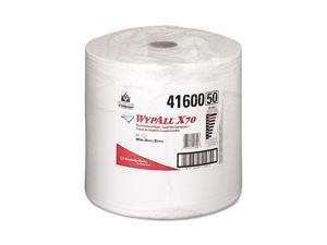 Kimberly-Clark Professional              WYPALL X70 Wipers, Jumbo Roll, Perf., 12 1/2 x 13 2/5, White, 870/Roll, 1/Carton