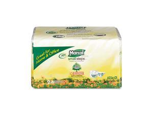 Marcal                                   100% Recycled Convenience Bundle Bathroom Tissue, 4 Rolls/Pack, 6/Carton