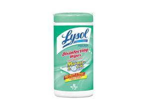 LYSOL Brand 77182CT - Disinfecting Wipes, Lemon and Lime Blossom, White, 7 x 8, 80/Can, 6 Cans/CT