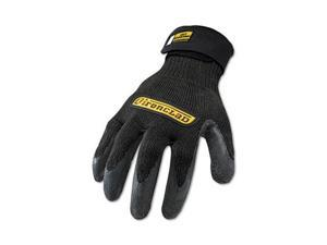 Ironclad ICR-03-M Cut Resistant Stainless Steel, Nylon-Mesh Gloves, 1 Pair, Black, Medium