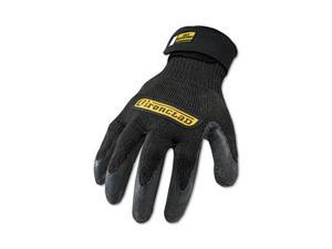 Ironclad ICR-04-L Cut Resistant Stainless Steel, Nylon-Mesh Gloves, 1 Pair, Black, Large