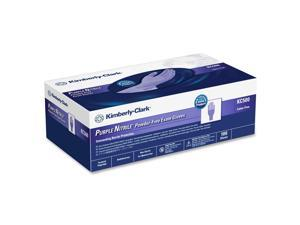 KIMBERLY-CLARK PROFESSIONAL* 55083 STERLING PURPLE NITRILE Exam Gloves, Large, Purple, 100/Box