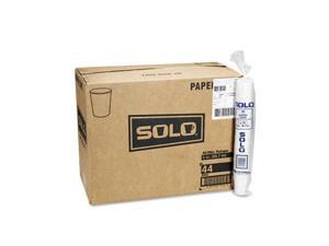 SOLO Cup Company                         White Paper Water Cups, 3 oz., 50 Bags of 100/Carton