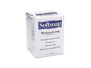 Softsoap 01924EA Moisturizing Soap w/Aloe, Unscented Liquid, Dispenser, 800ml