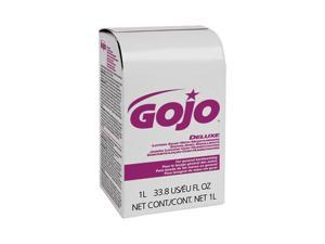 GOJO NXT Lotion Soap w/Moisturizer Refill, Light Floral Liquid, 1000ml Box, 8/Carton