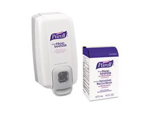 GOJO                                     NXT SPACE SAVER Hand Sanitizer Dispenser & Refill