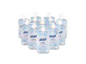 PURELL Hand Sanitizer, 20-oz. Pump Bottle, 12/Carton