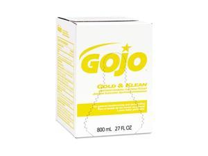 GOJO Enriched Lotion Soap Bag-in-Box Dispen. Refill, Lightly Scented,800ml, 12/Carton