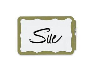 Self-Adhesive Name Badges, 2 x 3-1/2, Gold, 100/Box