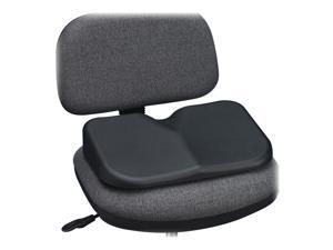 Safco 7152BL Softspot Seat Cushion, 15-3/4w x 10d x 3h, Black